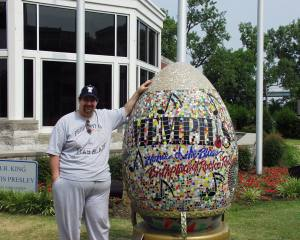 With the famous Memphis Egg in 2007