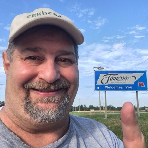 Visiting Tennessee in 2014 on my way to Galveston