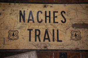 Old Naches Trail Sign