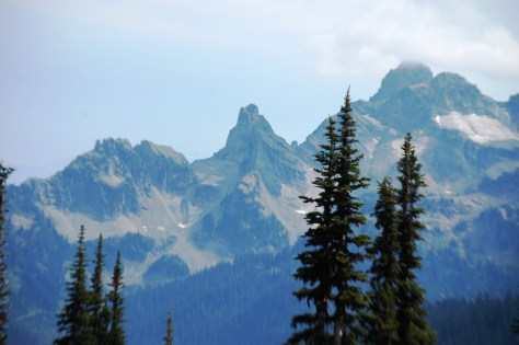 View of more of the Cascades