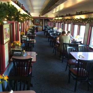 Dining Car at Mt. Rainier Railroad Dining Company