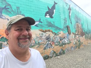 Undersea World mural in Port Orcahrd
