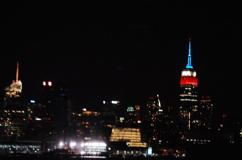 Manhattan Skyline with the Empire State building