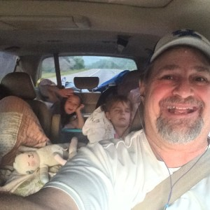 Heading east with the grandkidz!
