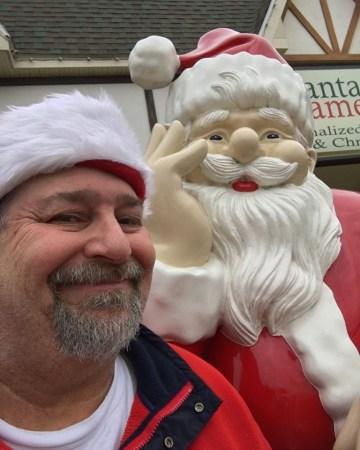A Santa Selfie