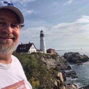 The famed Portland Head Light in Cape Elizabeth, Maine