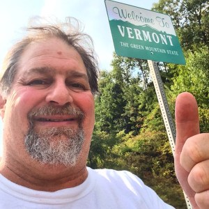 State Number 50 - At NH/VT border in Brattleboro, VT