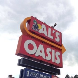 Al's Oasis in Oacoma, SD