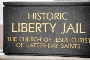 Liberty Jail is where LDS Church founder and leader Joseph Smith was held