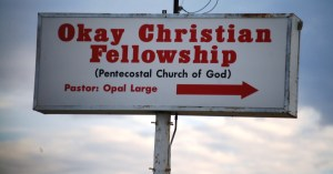 This church caters to Okay followers