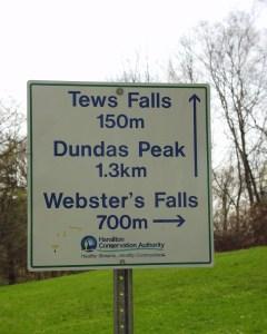 Tews Falls in Ontario