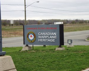Canadian Warplane Museum in Hamilton, Ontario