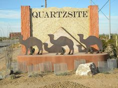Welcome to Quartzsite, AZ