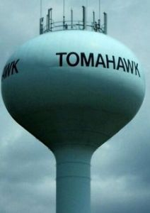 Tomahawk Water Tower