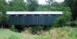 Ballard Road Covered Bridge built in 1883