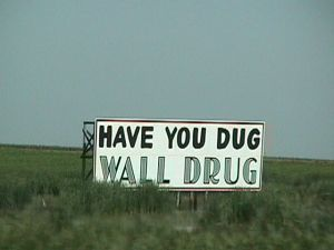 Another Wall Drug roadsign