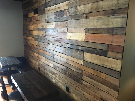 Hand built walls add to the personality of TOLI