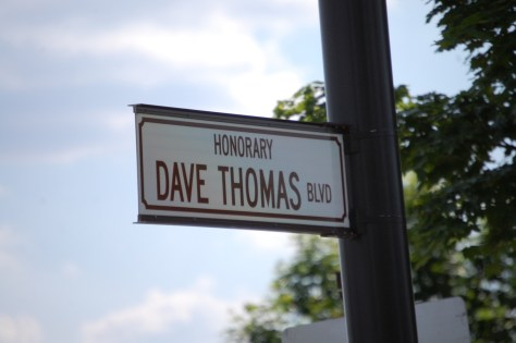Dave Thomas Blvd. in Dublin, OH