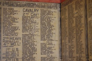 Marble Tablet with names of soldiers
