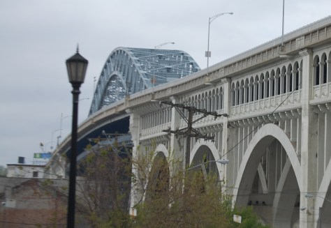 An alternate view of the Detroit-Superior Bridge in Cleveland