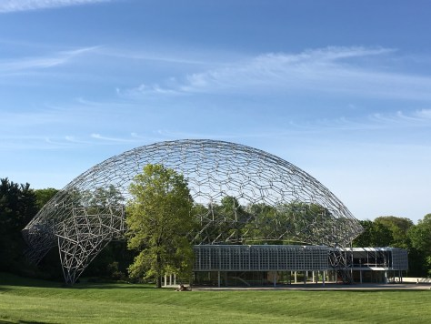 World's Largest Geodesic Dome at ASM in Novelty, OH