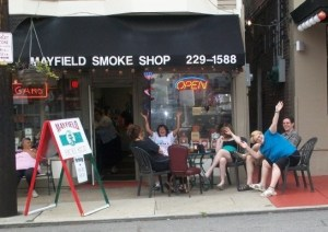 Mayfield Smoke Shop in Little Italy