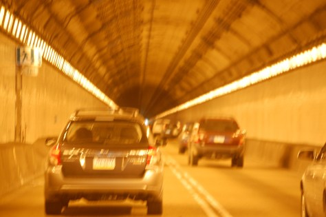 Fort Pitt Tunnel in Pittsburgh