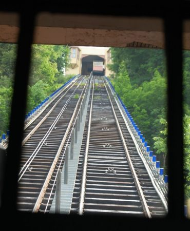 Monongahela Incline going up