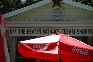 Off the Beaten Path Ice Cream in Damascus