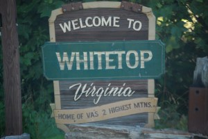 Welcome to Whitetop, VA