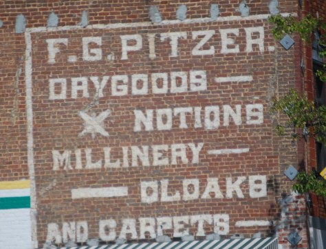Old Wall Advertisement in Bristol