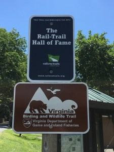 Virginia Creeper is a Rail Trail Hall of Fame trail