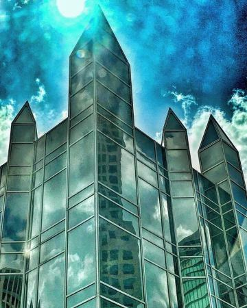 Artistic view of One PPG Place