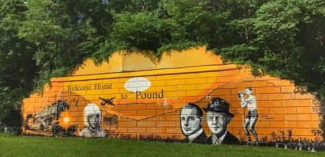 Pound Mural in Pound, VA