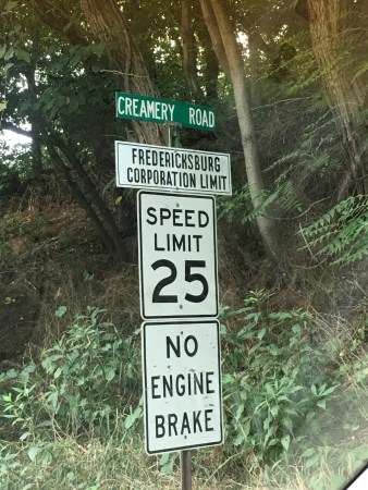 Fredericksburg Town Limit