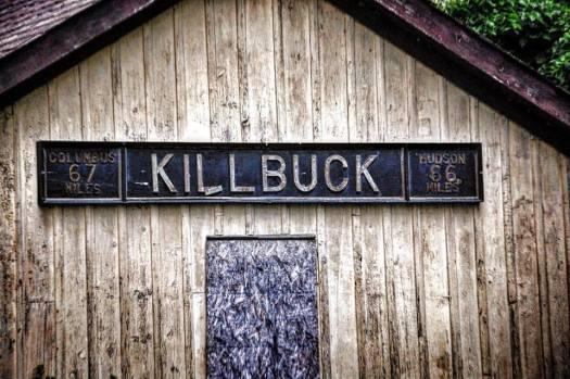 Old Train Station in Killbuck, OH