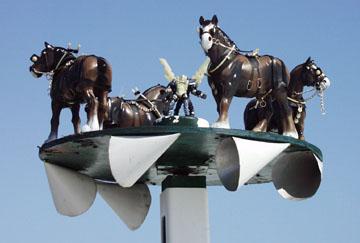 Horse Whirlygigs