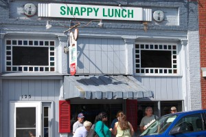 Snappy Lunch - home of the Pork Chop Sandwich