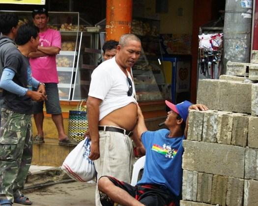 Belly Rubbing - Carbon Market - Cebu