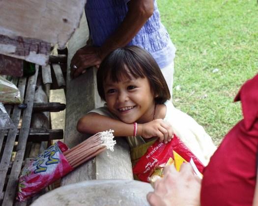 Smiling Girl - Cebu