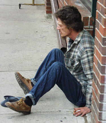 Street Person - Toronto