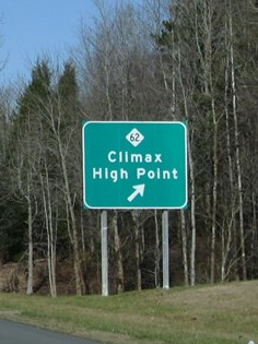 Climax and High Point, NC