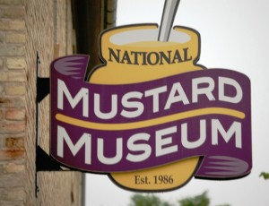 National Mustard Museum Sign, Middleton, WI