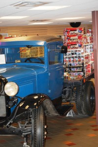 Old Truck in I-80 Truck Stop