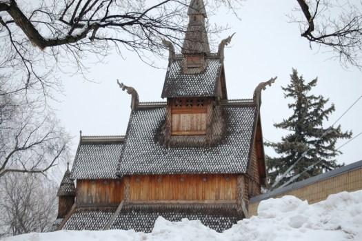 Stave Church Replica - Moorhead, MN