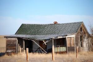 Old cabin in Cohagen