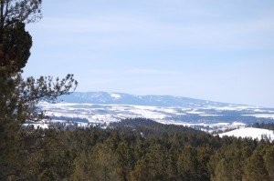 Mountains near Lewistown