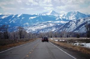 Grand Tetons on US 89
