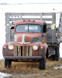Old Truck near Victor, WY