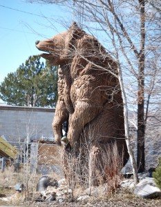 Giant Bear with Fish